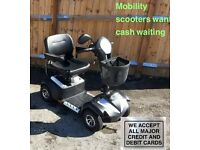 Mobility scooter 3 mth warranty 2016 model