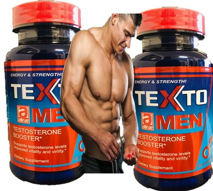 TESTO,LOAD max TESTOSTERONE MUSCLE BOOSTER NO STEROIDS 60 2