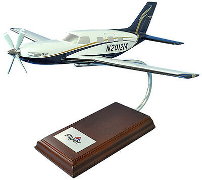 Piper Pa-46 Meridian Desk Top Display Model 1/32 Private Aircraft Es Airplane