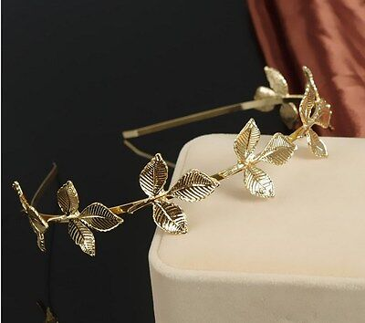 Fashion Women Metal Leaf Chain Jewelry Headband Head Piece Hair band Gift P68](Head Chain Jewelry)