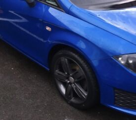 "Seat Leon fr+ 18"" alloy wheels"