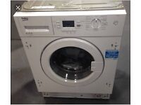 NEW!!! BEKO QWM84 WHITE BUILT-IN WASHING MACHINE WITH 12 MONTHS WARRANTY RRP £368