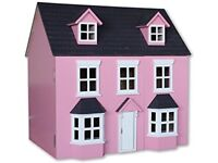 Pink Gorgeous 1980's Dolls House