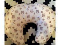 Owl breastfeeding pillow