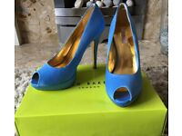 Ted Baker blue stilettos