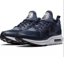 nike air max navy blue uk size 8 rrp £95