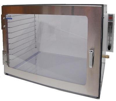 Nitrogen Desiccator Cabinet Acrylic With Gas Ports Shelf Racks