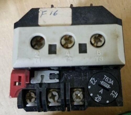 AEG 258-00 Overload Used 22-32Amp