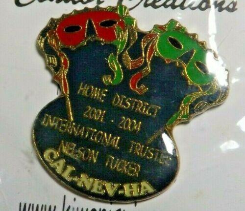 California-Nevada-Hawaii - Kiwanis International Lapel Pin International Trustee