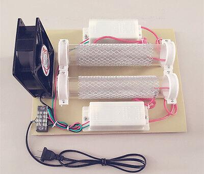 15000mg/h 15g Tube Ozone Generator Ozone Disinfection Machine Air Purifier 220V