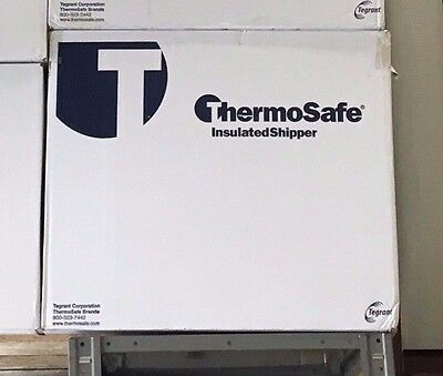 Insulated White Shipping Container Foam Kit 21-14 X 15-12 X 15-12