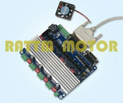 4 Axis Tb6560 Nema23 Stepper Motor Driver Controller Board For Cnc Router Mill