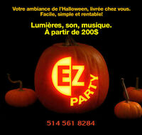 200$ Party Fête Anniversaire Halloween Dj Disco   EZ Party 200$