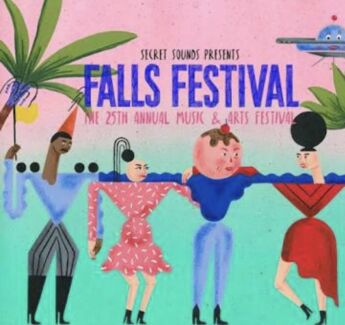 FALLS LORNE 4 day ticket + camping
