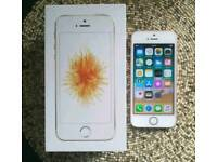 Rose gold iPhone SE unlocked & boxed excellent condition