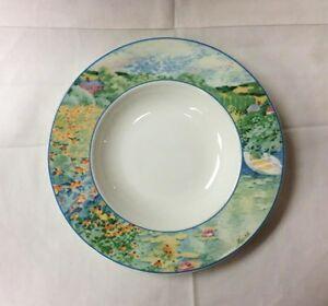 villeroy boch summer dreams rim soup bowl 9 1 2 heinric. Black Bedroom Furniture Sets. Home Design Ideas
