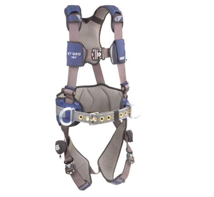 3M DBI-SALA ExoFit NEX  Positioning Climbing Tower Safety Harness (READ ADD )