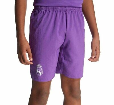 Real Madrid FC Away 2016/17 Junior children football shorts size: 15-16 yrs