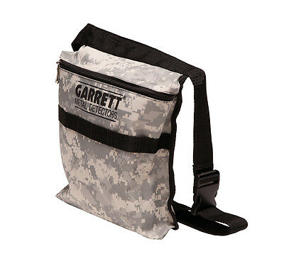 Garrett Camo Metal Detecting Treasure Pouch Made For Metal Detecting Ships FREE