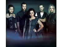 2 x Evanescence Tickets-Tuesday 13th June 2017-Eventim Apollo,London