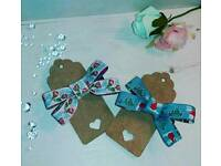 Pair of Cath Kidston hair bows