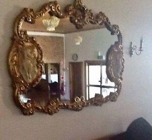Ornate filigree wall mirrors Belmont Lake Macquarie Area Preview