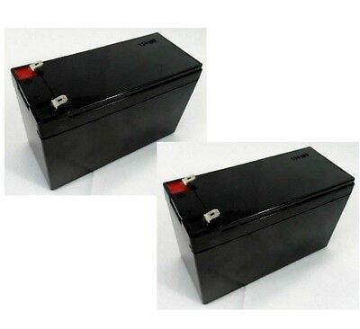 American Power Conversion Apc Back Ups Xs1500 Xs 1500 Two 12V 7 0Ah Batteries F1