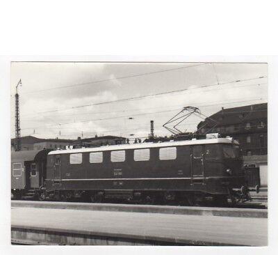 """E-Lok BR E 41 001 der DB - SW Baryt-Foto 12,5x17,5 cm """"Zab43"""