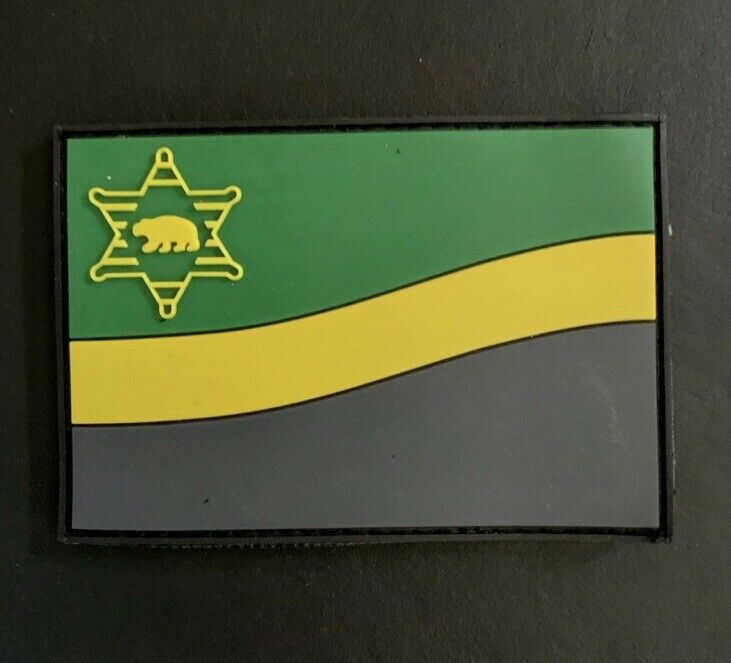Los Angeles County Sheriff Department / LASD 3D PVC FLAG PATCH