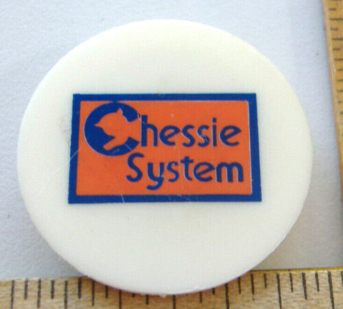 CHESSIE SYSTEM RAILROAD MAGNET