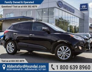 2013 Hyundai Tucson Limited LOW KILOMETRES & ACCIDENT FREE