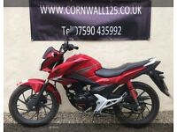 Honda CB 125 F 2016 Learner Legal Low Mileage Excellent Condition