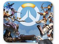 Overwatch gaming mouse mat extra thick quality