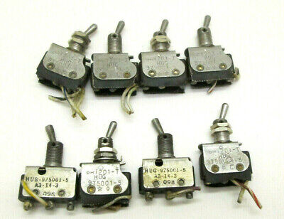 Vtg Lot Of 4 You Micro Switchtoggle Switches 6at201-t 975001-5 Made In Usa