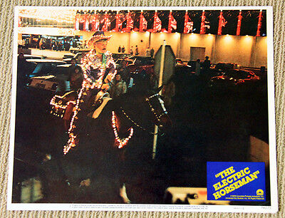 THE ELECTRIC HORSEMAN Lobby Card #1 ROBERT REDFORD 1979 cowboy