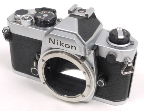 Nikon FM Chrome Body - EX+ - Works Perfectly