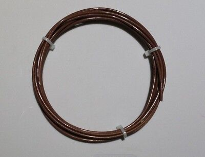 20 Awg Mil-spec Wire Ptfe Stranded Silver Plated Copper Brn 25 Ft