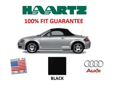 Audi TT 2000-2006 Convertible Soft Top With Glass Window Black Twillfast II RPC