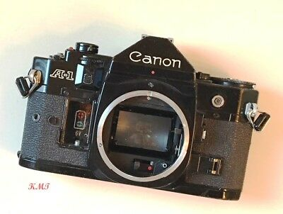 Canon A-1 A1 Top, and Front Face Cover  - Good Used Condition Nice Parts
