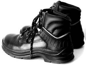 PAIR OF BLACK LEATHER BLUNDSTONE BOOTS. SIZE 6.5. East Perth Perth City Area Preview