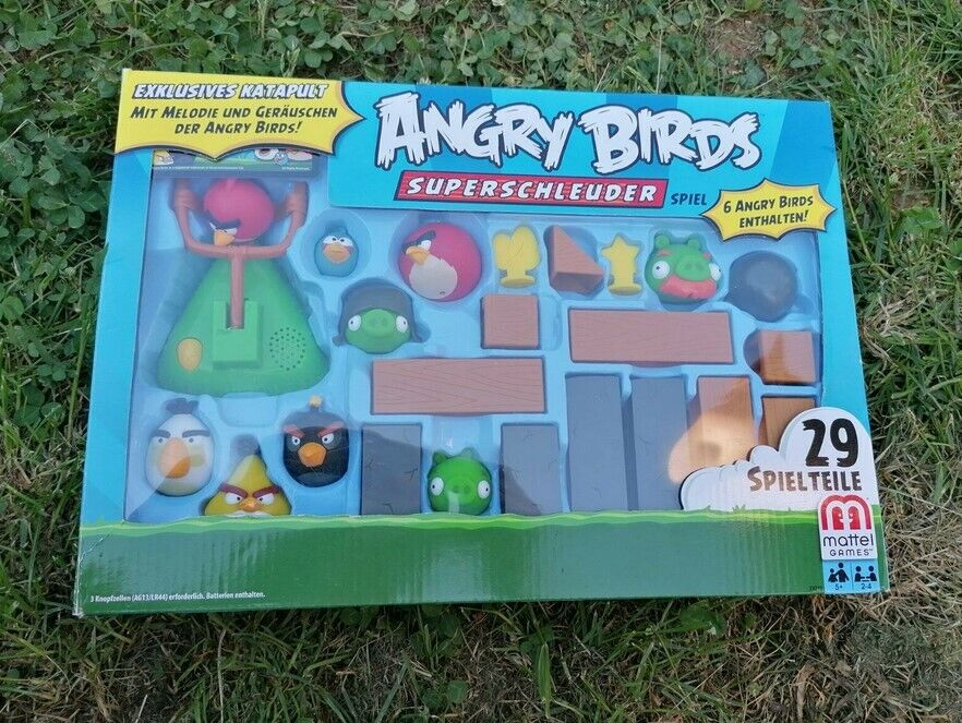 Angry Birds Spielset Gesellschaftsspiel