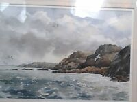 Distinguished collectable water colour painting of Pembrokeshire