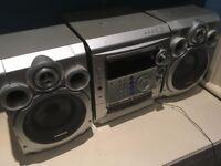 Samsung CD/tape/radio speaker system