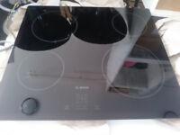 Bosch PKE611D17E Black Ceramic Hob