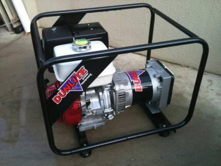 Dunlite 5.8KVA Honda Generator Benowa Gold Coast City Preview