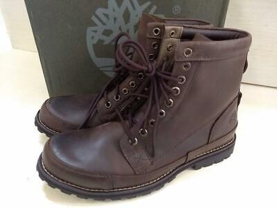 """Timberland Men's Earthkeeper 6"""" Laceup Boot,Dark Brown Burnished Oiled, 12 M US"""