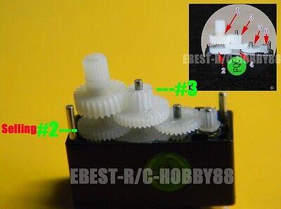 10pcsX Upgraded Servo Gear (5P 2# +5P 3#) for Walkera Genius Mini Super CP heli