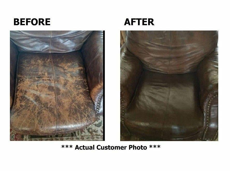 Espresso Very Dark Brown Leather Color Repair 4Oz Recolor Restorer Couch Car  - $18.99