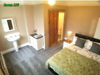 Beautiful En Suite Double Room Overlooking Garden 🍀 in Quiet & Mature House • Parking • Ipswich IP3