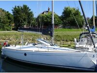 21 foot Beneteau First 211 sail boat in very good condition.